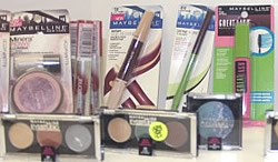 wholesale cosmetics shelf pulls